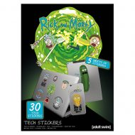 Rick And Morty Adventures Tech Stickers