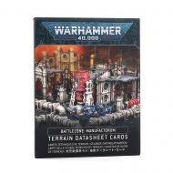 Battlezone Manufactorum Terrain Datasheet Cards
