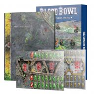 Blood Bowl Skaven and Dwarf Pitch