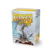 Dragon Shield Spilaplöst Matt  Silver (100)