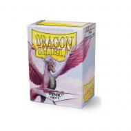 Dragon Shield Spilaplöst Matt  Pink (100)