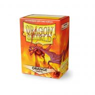 Dragon Shield Spilaplöst Matt  Orange (100)