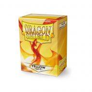 Dragon Shield Spilaplöst Matt  Yellow (100)