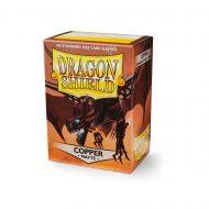 Dragon Shield Spilaplöst Matt  Copper (100)