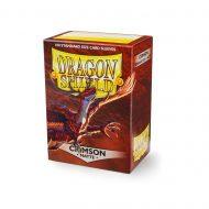 Dragon Shield Spilaplöst Matt  Crimson (100)