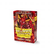 Dragon Shield Spilaplöst Yugioh Matt Crimson (60)