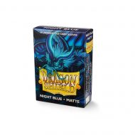 Dragon Shield Spilaplöst Yugioh Matt Night Blue (60)