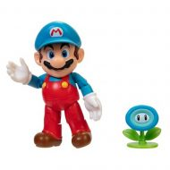 World of Nintendo 4-Inch Action Figure – Ice Mario with Ice Flower
