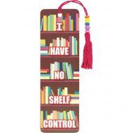 Shelf Control beaded bookmark