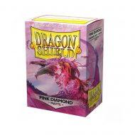 Dragon Shield Spilaplöst Pink Diamond (100)