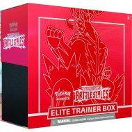 Pokemon Sword & Shield 5 Battle Styles: Elite Trainer Box Rautt