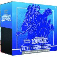Pokemon Sword & Shield 5 Battle Styles: Elite Trainer Box Blátt