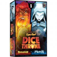 Dice Throne: Season 1 Rerolled – Box 1 – Barbarian vs. Moon Elf