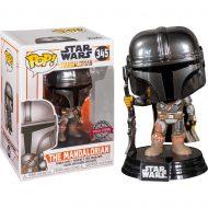 Star Wars The Mandalorian (Chrome) Pop! Vinyl Figure