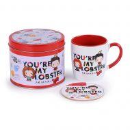 Friends Youre My Lobster – Chibi – Mug Tin Set