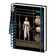 Star Wars: Rise Of Skywalker Model Rey – A5 Notebook