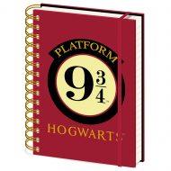 Harry Potter Hogwarts 9 3/4 – A5 Notebook