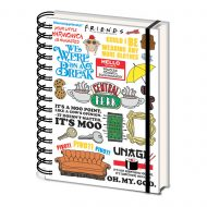 Friends Infographic – A5 Notebook