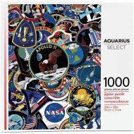 NASA Mission Patches AS 1000 bita púsl