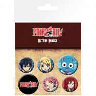 Fairy Tail Characters – Badge Pack