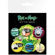 Rick And Morty Mix 1 – Badge Pack