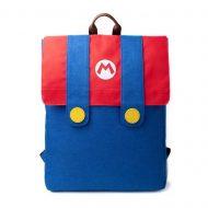 Super Mario – Mario Denim Suit Flap Backpack