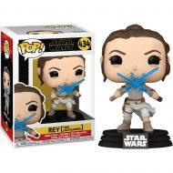 Star Wars Rey with 2 Light Sabers Pop! Vinyl Figure