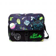 Rick And Morty – Space AOP With Flock Print Messengerbag