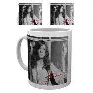 Janis Joplin Wolman BW – Mug