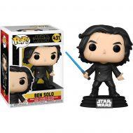 Star Wars Ben Solo with Blue Saber Pop! Vinyl Figure