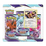 Pokemon Sword & Shield 6 Chilling Reign: 3 Pack Booster (Eevee)