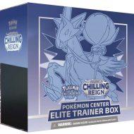 Pokemon Sword & Shield 6 Chilling Reign: Elite Trainer Box (Ice Rider Calyrex)