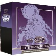 Pokemon Sword & Shield 6 Chilling Reign: Elite Trainer Box (Shadow Rider Calyrex)