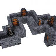 WarLock Tiles: 1 in Dungeon Straight Walls