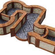 WarLock Tiles: 1 in Town & Village Angles & Curves