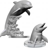 D&D fígúrur Dolphins