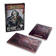 Necromunda House Delaque Tactics Cards