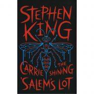 Stephen King 3 Novels (Carrie, Shinig, Salems Lot)