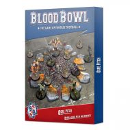 Blood Bowl Ogre Pitch and Dugout