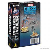 Marvel Crisis Captain America and War Machine
