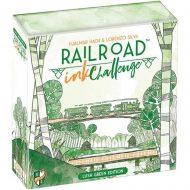 Railroad Ink Challenge: Lush Green Edition