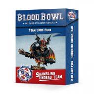Blood Bowl Shambling Undead Team Cards