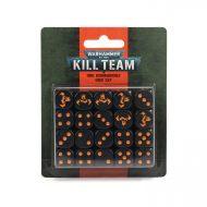 Kill Team Ork Commando Dice Set