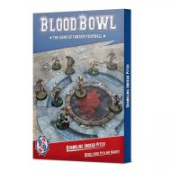 Blood Bowl Shambling Undead Pitch and Dugouts