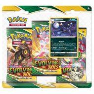 Pokemon Sword & Shield 7 Evolving Skies: 3 Pack Booster Blister Umbreon