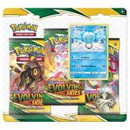 Pokemon Sword & Shield 7 Evolving Skies: 3 Pack Booster Blister Eiscue