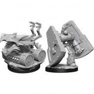 D&D fígúrur Stone Defender & Oaken Bolter