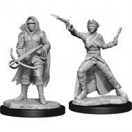 D&D fígúrur Bounty Hunter & Outlaw