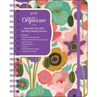 Posh: Deluxe Organizer 17-Month 2021-2022 Monthly/Weekly Planner Calendar Painted Poppies