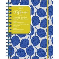 Posh: Deluxe Organizer 17-Month 2021-2022 Monthly/Weekly Planner Calendar: Blue Leaves